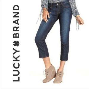Lucky Brand Sweet'N Crop Jean Capris 4/27